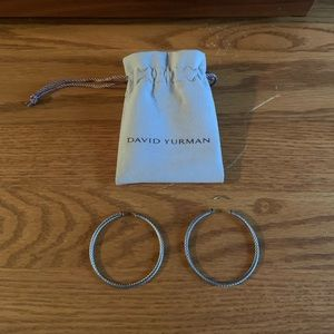 Authentic David Yurman Cable Hoops